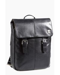 Knomo | Black 'hudson' Backpack for Men | Lyst