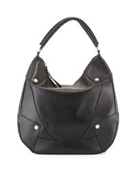 Foley + Corinna | Black Sequoia Leather Hobo Bag | Lyst