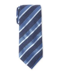Countess Mara | Blue Apollo Stripe Silk Tie for Men | Lyst