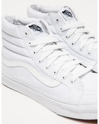 Vans - White Sk8hi Slim - Lyst