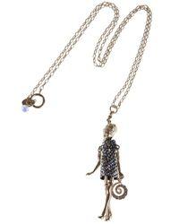 Servane Gaxotte | Metallic Girl Pendant Necklace | Lyst