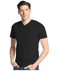 Tommy Hilfiger - Blue Elmira V-Neck T-Shirt for Men - Lyst