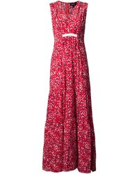 Saloni | Red Anouk Maxi Dress | Lyst