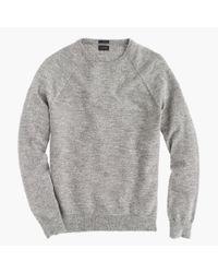 J.Crew - Gray Italian Cashmere V-neck Sweater for Men - Lyst