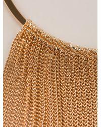 Vita Fede - Metallic Chain Tassel Necklace - Lyst
