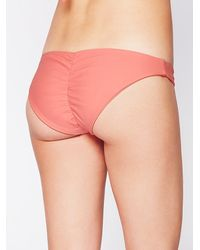 Free People - Orange X Zinke Womens Emmi Solid Bottoms - Lyst