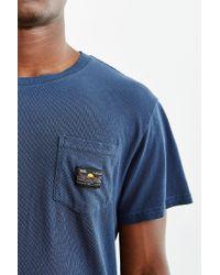 Vans | Blue Doheny Pocket Tee for Men | Lyst