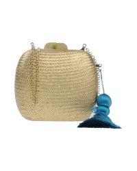 INTROPIA - Metallic Handbag - Lyst