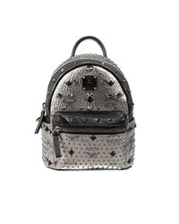 MCM | Black Small 'stark' Backpack | Lyst