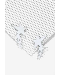 Nasty Gal | Metallic Melody Ehsani Shooting Star Crawler Earring | Lyst
