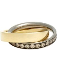 Roberto Marroni - Metallic Rolling Ring - Lyst