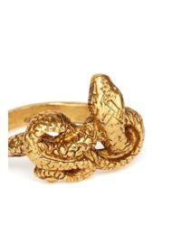 Ela Stone - Metallic Cobra Ring - Lyst