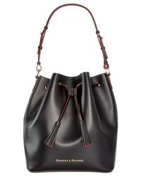 Dooney & Bourke | Black Large Serena Drawstring Bag | Lyst