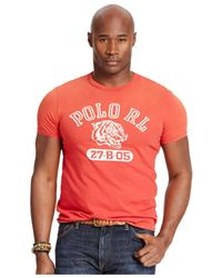 Polo Ralph Lauren | Red Big & Tall Tiger Graphic T-shirt for Men | Lyst