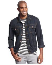 American Rag - Blue Indigo Denim Jacket for Men - Lyst