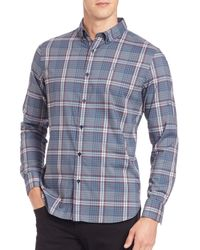Victorinox | Blue Bruckton Sportshirt for Men | Lyst