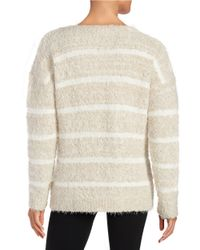 Calvin Klein | Natural Eyelash Knit Sweater | Lyst