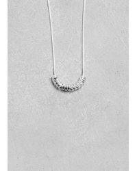 & Other Stories - Metallic Snake Chain Necklace - Lyst