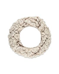 Forever 21 - Pink Open-knit Infinity Scarf - Lyst