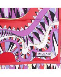 Emilio Pucci | Red Foulard | Lyst