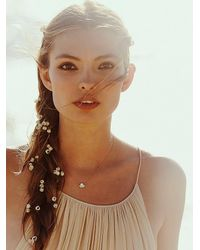 Free People - Metallic Inner Light Necklace - Lyst