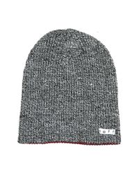 Neff | Black 'daily' Reversible Knit Cap for Men | Lyst