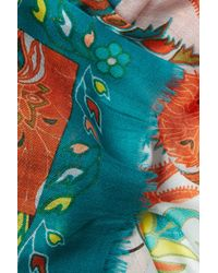 Etro   Paisley Print Cashmere Scarf - Multicolor   Lyst