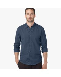 James Perse | Blue Standard Shirt for Men | Lyst