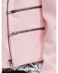 Banana Republic | Pink Multi-zip Moto Jacket | Lyst