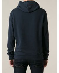 a1f4c756c DIESEL 'Suzanne' Hoodie in Blue for Men - Lyst