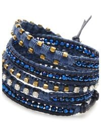 Nakamol | Multicolor Cassidy Wrap Bracelet-cobalt | Lyst