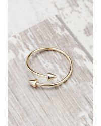 Forever 21 | Metallic Shashi Spike Ring | Lyst