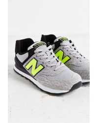 New Balance | Gray 574 Sweatshirt Running Sneaker | Lyst