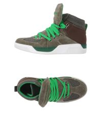 Dolce & Gabbana - Green High-tops & Trainers for Men - Lyst