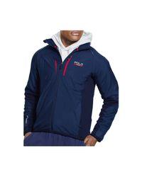 Polo Ralph Lauren - Blue Polo Sport Hybrid Tech Jacket for Men - Lyst