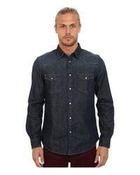 Ben Sherman | Blue Micro Gingham Regular Fit Shirt for Men | Lyst