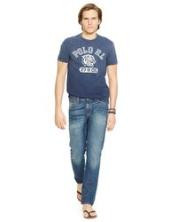 Polo Ralph Lauren | Blue Tiger Graphic T-shirt for Men | Lyst