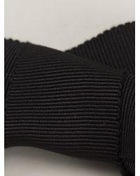 Lanvin | Black Ribbon Necklace | Lyst