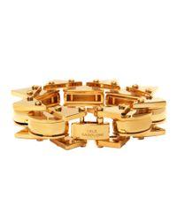 Lele Sadoughi | Metallic Mini Satellite Bracelet In Gold | Lyst