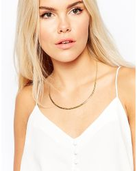 Gorjana - Metallic Taner Collar Necklace - Lyst