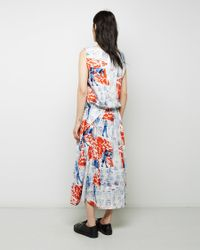 Zucca | Multicolor Printed Cotton Dress | Lyst