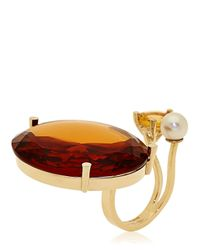 Delfina Delettrez | Metallic Never Too Light Ring | Lyst