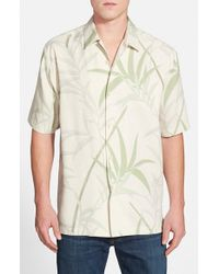 Tommy Bahama | White 'you're So Vine' Original Fit Print Silk Camp Shirt for Men | Lyst