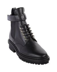 Balenciaga - Black Biker Ankle Boots - Lyst