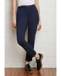 Forever 21 | Blue School Uniform Trousers | Lyst