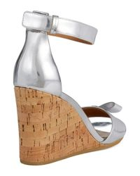 Marc By Marc Jacobs - Metallic Wedge Sandals - Lyst