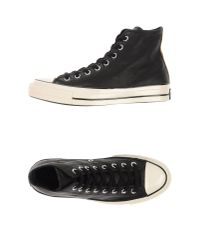 Converse - Black High-tops & Trainers for Men - Lyst