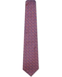 Turnbull & Asser | Purple Kaleidoscope Silk Tie, Men's, Reds for Men | Lyst