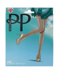 Pretty Polly | Natural Sheer Lurex Tight | Lyst