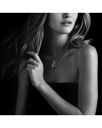 David Yurman - Metallic Lantana Small Dome Ring with Diamonds in Gold - Lyst